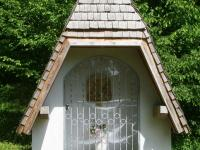 Marterl und Wegkreuze Reichmannshausen Waldkapelle am Essigbrünnlein Nahansicht